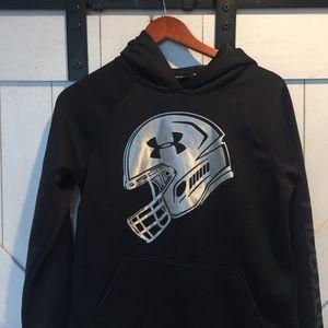 Under armor football hoodie
